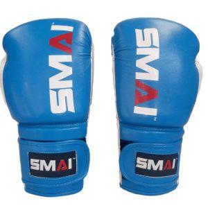 guantes de boxeo azul